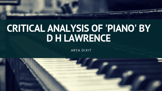 what is the lesson in the piano lesson